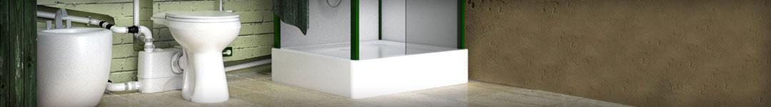 Posso installare un secondo bagno senza avere il classico tubo da 110 mm?